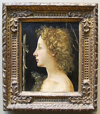Piero di Cosimo - Young St John the Baptist, 1490s