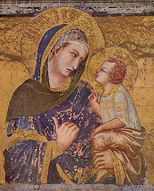 Madonna dei Tramonti - Madonna dei Tramonti by Pietro Lorenzetti