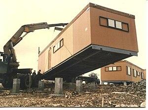 Mitzpe Hila - Posting of caravan in Mitzpe Hila, Israel, 1982