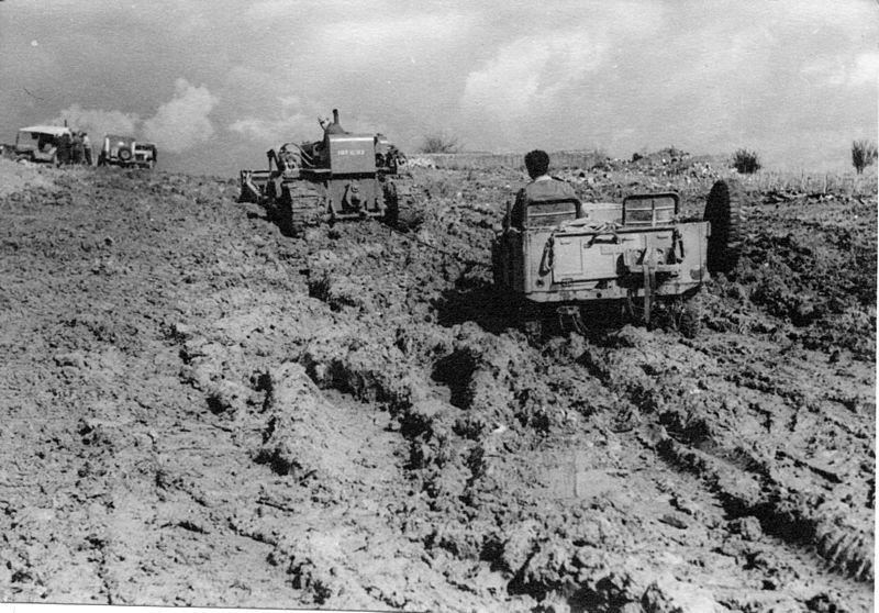 מבצע חורב - הבוץ הגדול בוואדי באר שבע