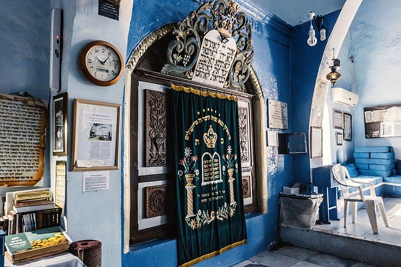 צפת העתיקה בית הכנסת יוסף קארו