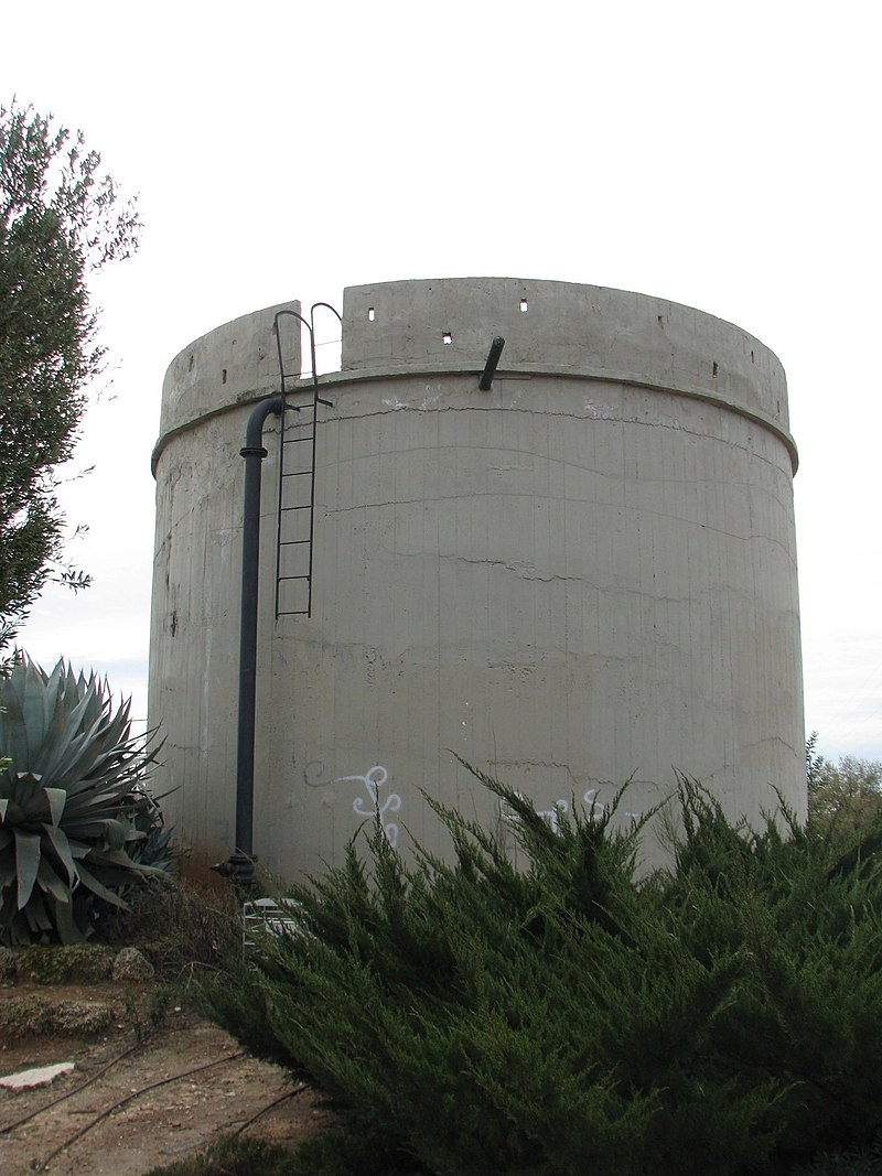 מגדל המים באבן יהודה