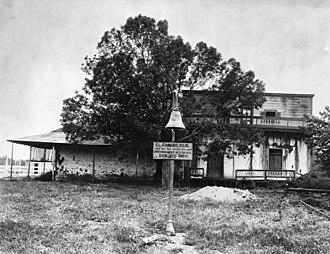 Pio Pico State Historic Park - Pío Pico Adobe in 1910