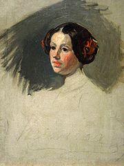 Portret Marii Michałowskiej