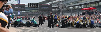 Pit Stop Challenge - Action from the 2015 Pit Stop Challenge