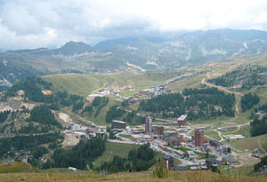Pierre Guariche - Plagne Centre, which Guariche designed