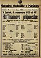 Plakat za predstavo Hoffmannove pripovedke v Narodnem gledališču v Mariboru 9. novembra 1922.jpg