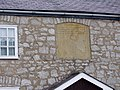 Plaque, the Old School at Cilcain - geograph.org.uk - 1586814.jpg