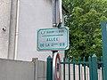 Plaque Allée 2e Division Blindée - Rosny-sous-Bois (FR93) - 2021-04-15 - 2.jpg