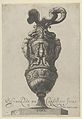 Plate 7- Vase or Ewer Decorated With a Vase Flanked by Putti and Two Large Female figures whose legs morph into griffin claws, from Antique Vases (Vasa a Polydoro Caravagino) MET DP837056.jpg