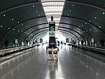 Platform of Longyang Road Station (Shanghai Maglev) 3.jpg