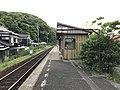 Platform of Tamae Station 4.jpg
