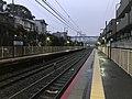 Platform of Uzumasa Station 10.jpg