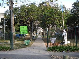 Florida Este, Buenos Aires - Image: Plaza HE Gonzalez