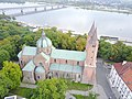 Plock Cathedral aerial photograph 2019 P01.jpg