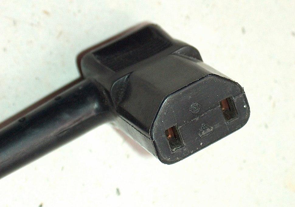 Plug IEC320 Kaltgeräteanschlusssteckdose DIN VDE 0625 Teil 1 Normblatt C17