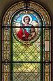 Poertschach Pfarrkirche hl Johannes Theodor Theyer-Glasfenster 20082015 6808.jpg