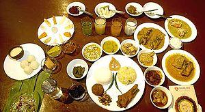 Pahela Baishakh - Poila Baisakh festive meal.