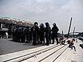 Police-chain during G20 summit in Hamburg 02.jpg