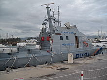 Photo of Category A, Fast sea Patrol Boat, FAC-23 Class (side view)