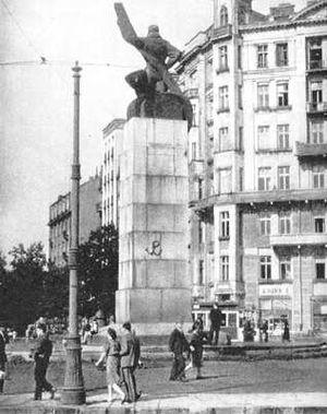 Kotwica - Image: Polish Underground Symbol on Pilot Monument