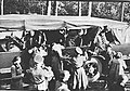 Polish hostages preparing by Nazi Germans for mass execution 1940.jpg