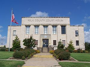 Polk County, Arkansas - Image: Polk Co. Courthouse