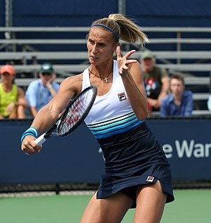 Polona Hercog - Hercog at the 2013 US Open