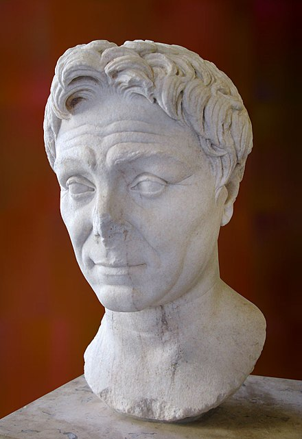 Pompey, Ptolemy XII's key ally in Rome. Pompey the Great.jpg