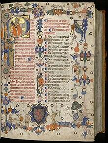 Pontifical de Guillaume Durand, 1357.jpg