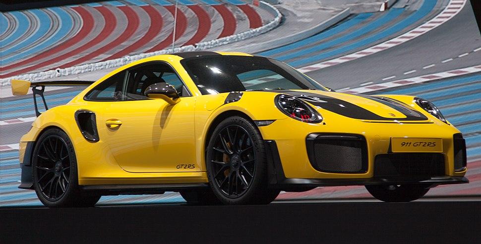 Porsche 911 GT2RS yellow3 IMG 0685