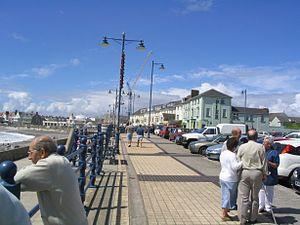 Porthcawl - Porthcawl Prominade.