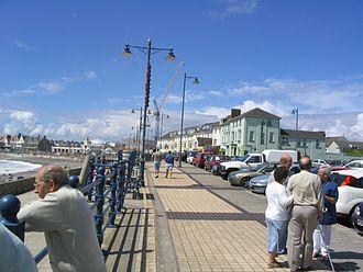 Porthcawl - Porthcawl Promenade.