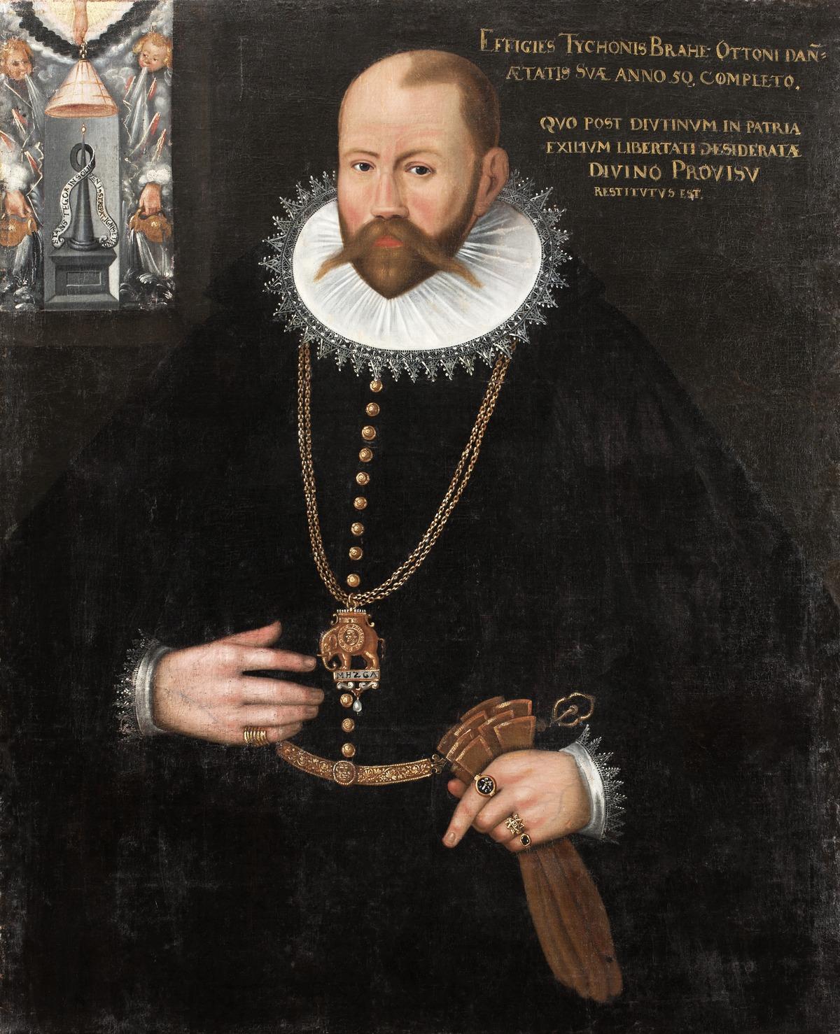 Porträtt av Tycho Brahe - Skoklosters slott - 90153.tif