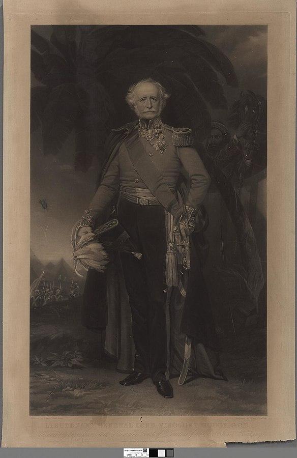 Lieutenant General Lord Viscount Gough, G.C.B