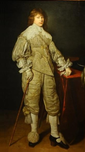 Janusz Radziwiłł (1612–1655) - Portrait by David Bailly, 1632