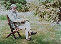 Portret van een man, mogelijk Adolphe Burdet, door Adolphe Burdet.jpg