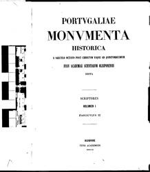 Alexandre Herculano: Portugaliae Monumenta Historica
