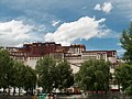 Potala with pond in front Tibet in 2003.jpg