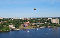 Poughkeepsie, NY with evening balloon take-off-crop.jpg
