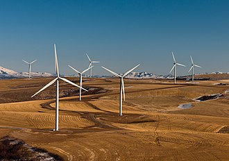 Wind power in Idaho - Wind turbines in Idaho
