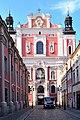 Poznań, ul. Gołębia - Pl. Kolegiacki, kościół, ob. par. p.w. św. Marii Magdaleny i św. Stanisława, 1651-1701, nr rej. A-149 z 25.02.1931 (1).JPG