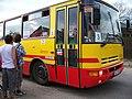 Prčice, Divišovická, kyvadlové autobusy do Heřmaniček, Veolia 3.jpg