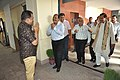 Prabhas Kumar Singh Greets Mahesh Sharma And NCSM Senior Officers - NDL - NCSM - Kolkata 2017-07-11 3495.JPG