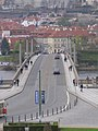 Praha, Mánesův most, východ 02.jpg