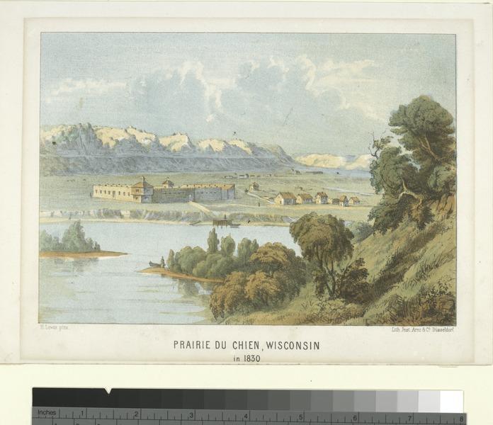 File:Prairie du Chien, Wisconsin in 1830 (NYPL Hades-119354-54391).tif