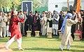 Pratibha Devisingh Patil, the Vice President, Shri Mohd. Hamid Ansari, the Prime Minister, Dr. Manmohan Singh and his wife Smt. Gursharan Kaur, the Chairperson, UPA, Smt. Sonia Gandhi, the Chief Minister of Delhi (2).jpg