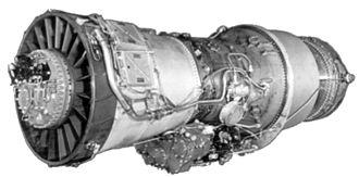 Pratt & Whitney J57 - Image: Pratt & Whitney J57 turbojet