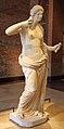 "Praxitele's Aphrodite (Venus), Commonly Called the ""Venus d'Arles,"" carved between 370 and 330 BC (14411234021).jpg"