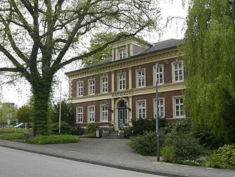 Preetz - Council Hall from 1871